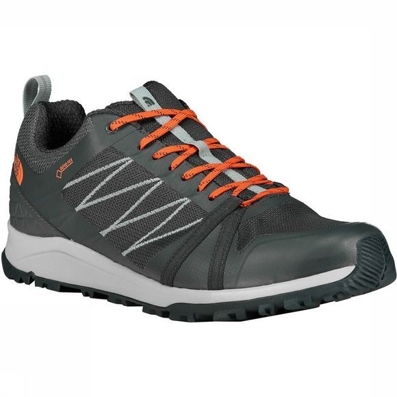 The North Face Litewave Fastpack II GTX Schoen Donkergrijs/Oranje