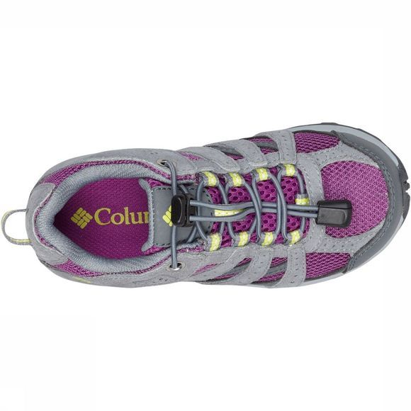 Columbia Youth Redmond Waterproof Schoen Junior Paars/Lichtgrijs
