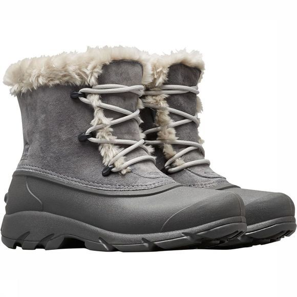 Sorel Snow Angel Lace Winterschoen Dames Donkergrijs