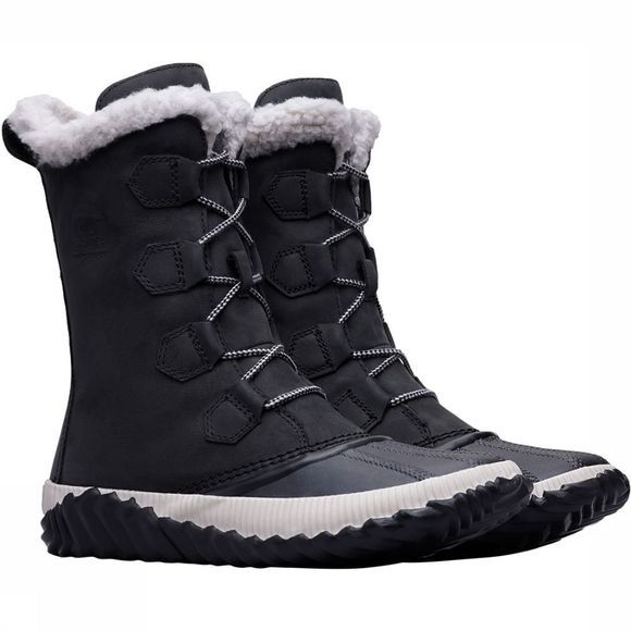 Sorel Out N About Plus Tall Winterschoen Dames Zwart
