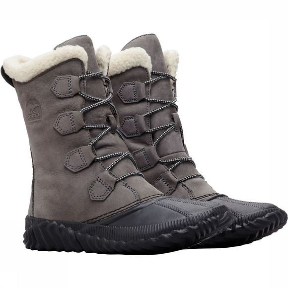 Sorel Out N About Plus Tall Winterschoen Dames Lichtgrijs/Middengrijs