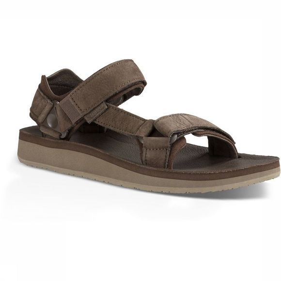 Teva Original Universal Premier Leather Sandaal Donkerbruin
