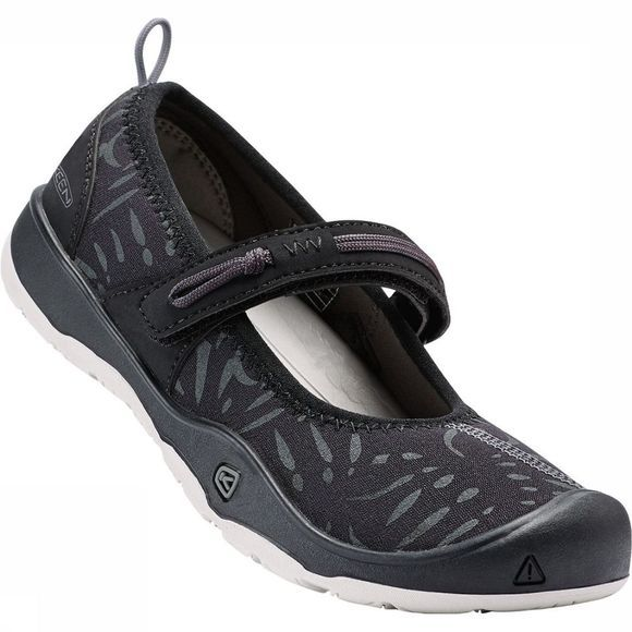 Keen Moxie Mary Jane Sandaal Junior Zwart