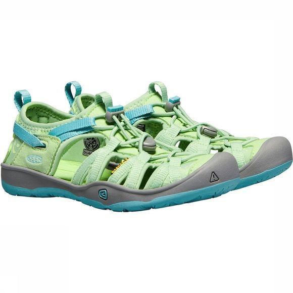 Keen Moxie Youth Sandaal Junior Lichtgroen/Middenblauw