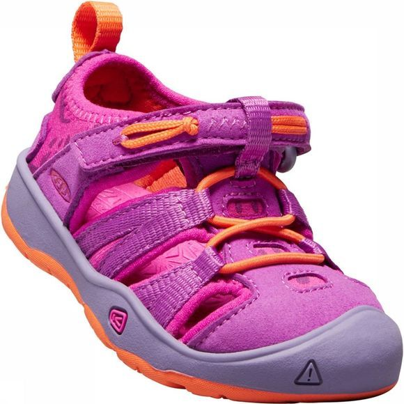 Keen Moxie Toddler Sandaal Junior Violet/Oranje