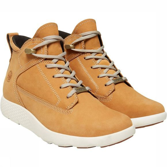 Timberland Flyroam WP Leather Chukka Schoen Dames Middenbruin