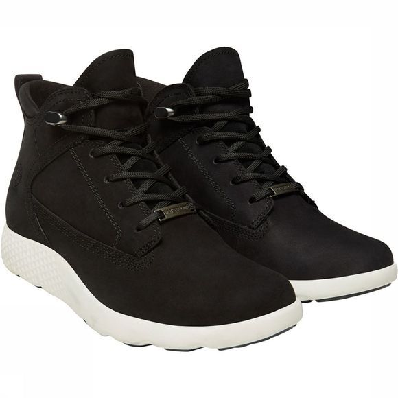 Timberland Flyroam WP Leather Chukka Schoen Dames Zwart