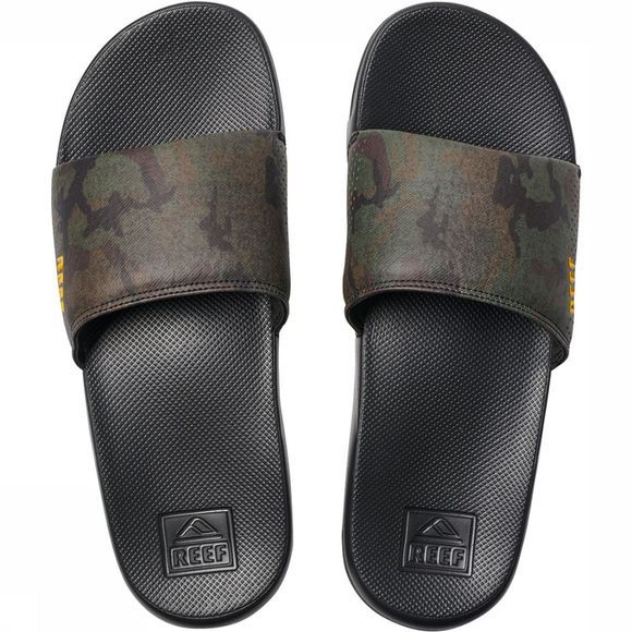 Reef One Slide Slippers Groen/Assortiment Camouflage