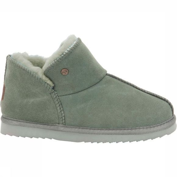 Warmbat Willow Pantoffel Dames Lichtgroen
