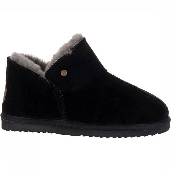 Warmbat Willow Pantoffel Dames Zwart