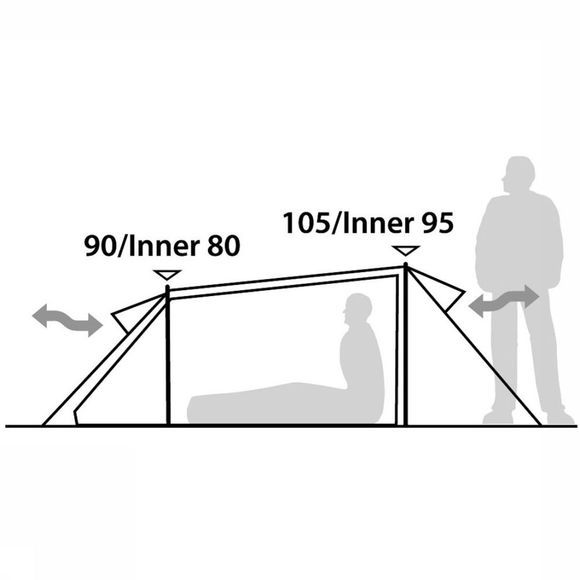Robens Arch 2 Tent Lichtrood