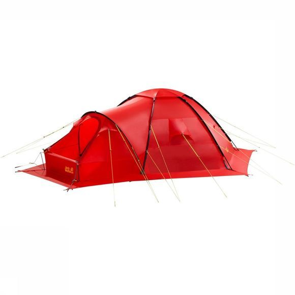 Jack Wolfskin Antarctica Dome Tent Rood