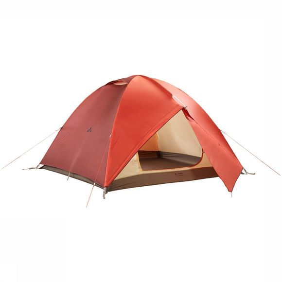 Vaude Campo Grande 3-4P Tent Rood