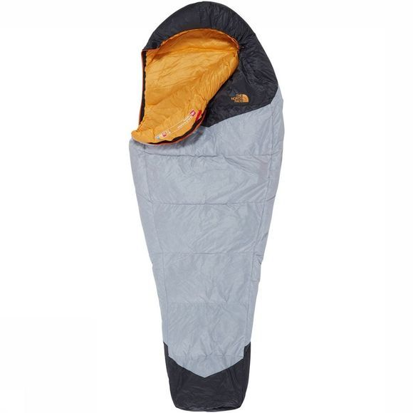 The North Face Gold Kazoo Regular Slaapzak Lichtgrijs/Donkergeel