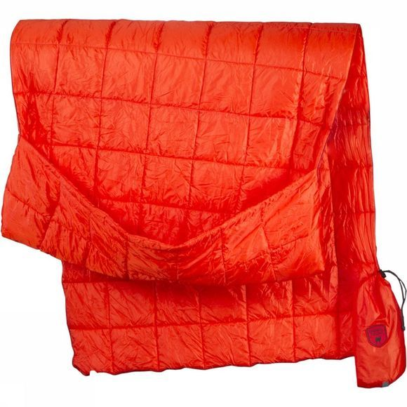 Grand Trunk Tech Throw Travel Deken Oranje