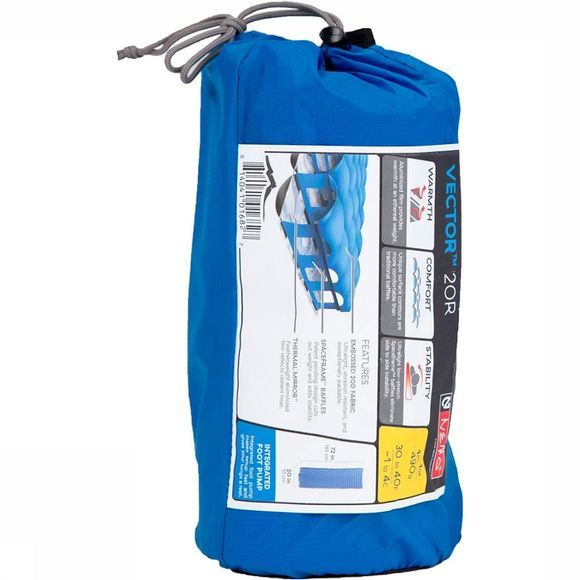 Nemo Vector Insulated 20R Luchtbed Blauw