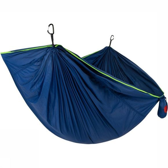 Grand Trunk Trunk Tech Double Hammock Hangmat Donkerblauw/Groen
