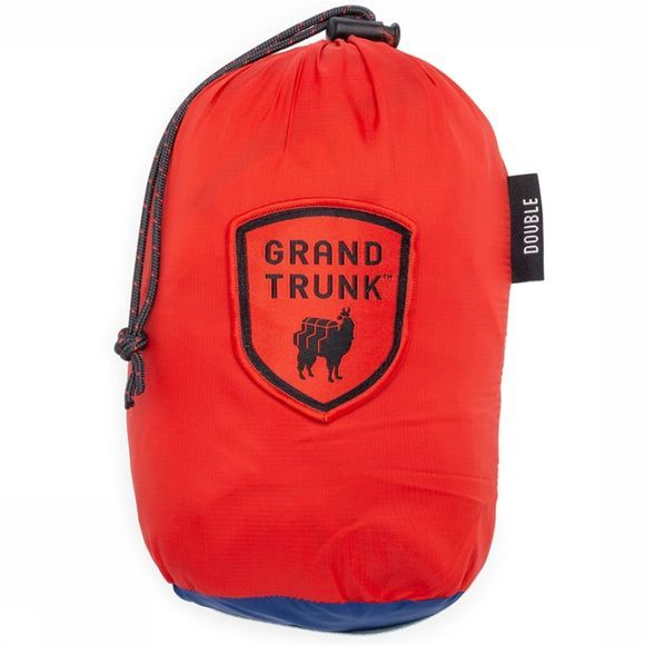 Grand Trunk Tech Single Hammock Hangmat Rood/Donkerblauw