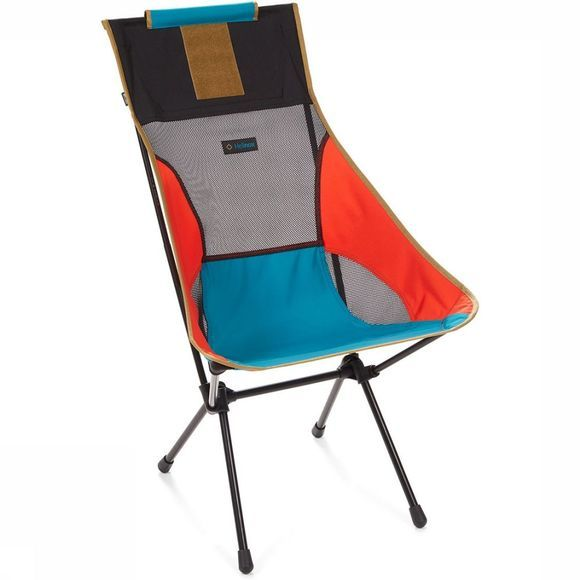 Helinox Sunset Chair R1 Stoel Oranje/Middenblauw