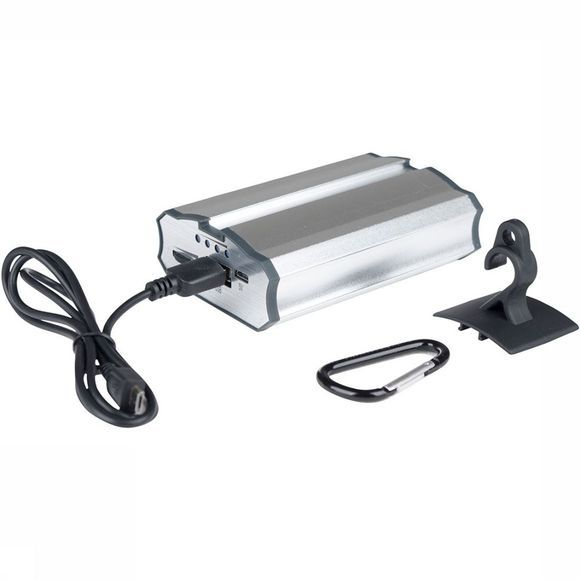 Bo-Camp Hanglamp Powerbank Zilver