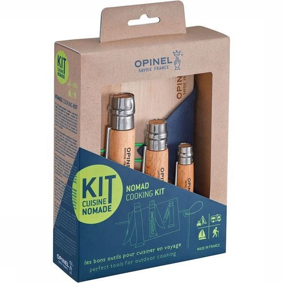 Opinel Outdoor Cooking Set 5-delige Nomad Keukenset Zandbruin