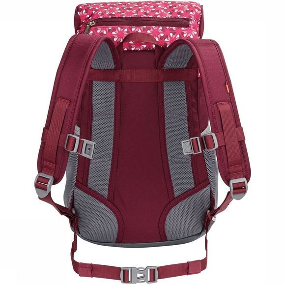 Vaude Puck 10 Rugzak Junior Donkerrood/Middenrood