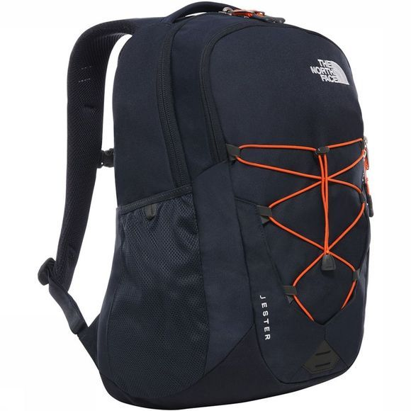 The North Face Jester Rugzak Donkerblauw/Oranje