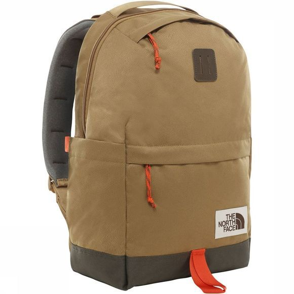 The North Face Daypack Middengroen/Middenbruin