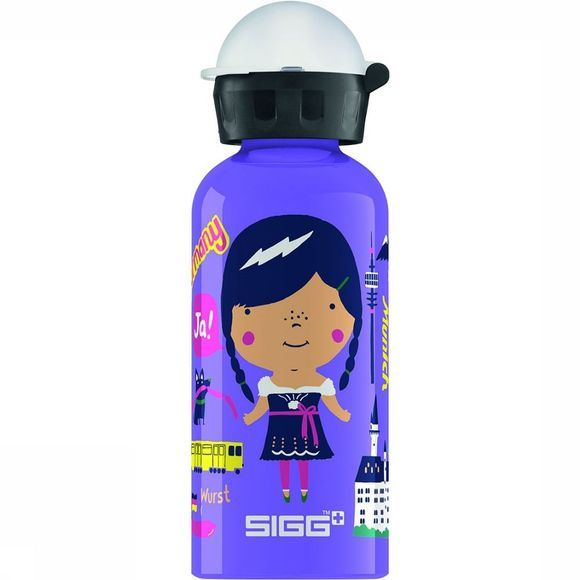 Sigg Travel Girl Germany 0,4L Drinkfles Lichtpaars/Donkerpaars