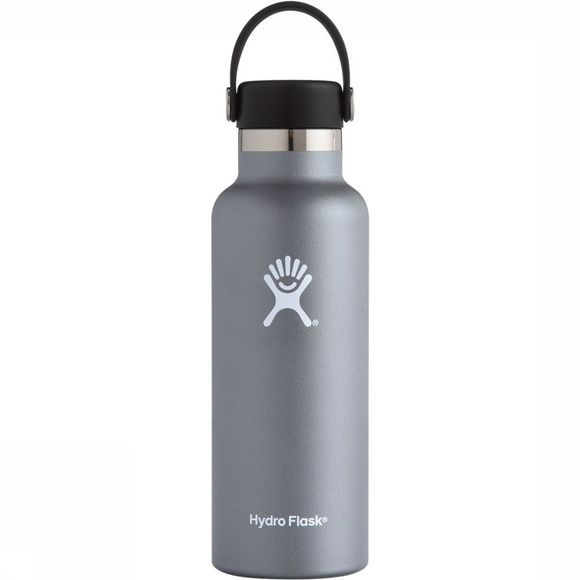 Hydro Flask Standard Mouth 0,5 L Isolatiefles Middengrijs