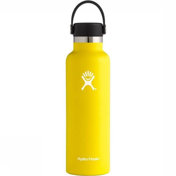 Hydro Flask Standard Mouth 0,6L Drinkfles Geel