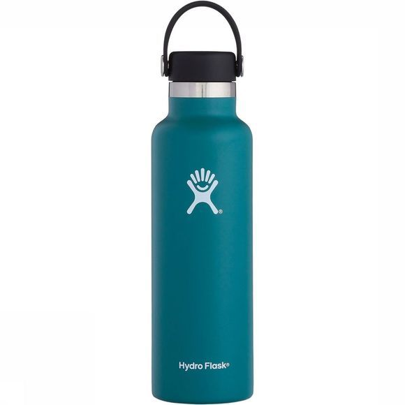 Hydro Flask Standard Mouth 0,6L Drinkfles Petrol
