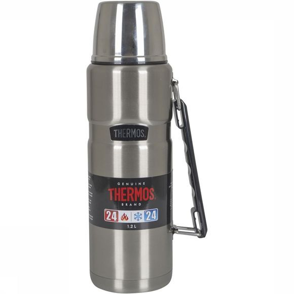 Thermos Isoleerfles King Zilver
