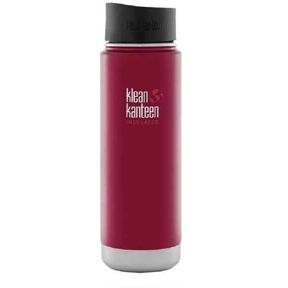 Klean Kanteen Wide Vacuum Insulated Café 0.6L Drinkfles Donkerrood