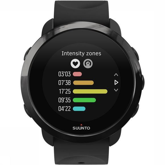 Suunto 3 Fitness All Black Horloge Zwart