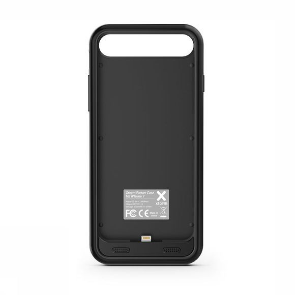 Xtorm Power Case iPhone 7 Accu + Hoes Zwart