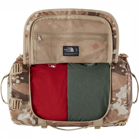 The North Face Base Camp Duffel S Lichtkaki/Assortiment Camouflage