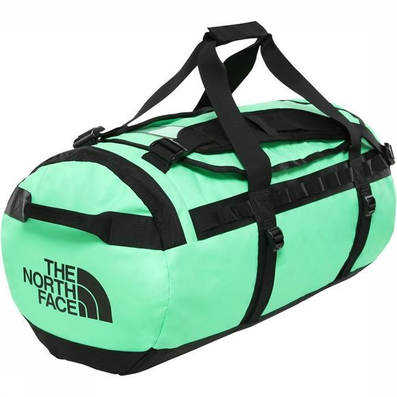 The North Face Base Camp Duffel M Lichtgroen/Zwart