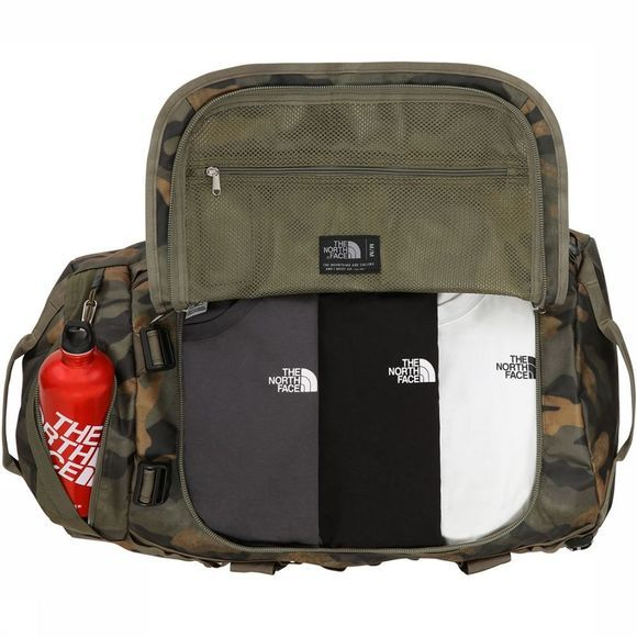 The North Face Base Camp Duffel M Donkerkaki/Assortiment Camouflage