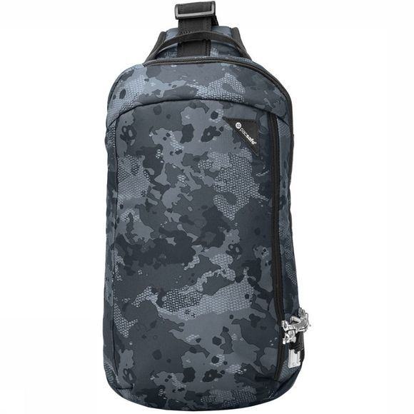 Pacsafe Vibe 325 Cross Body Tas Donkergrijs/Assortiment Camouflage