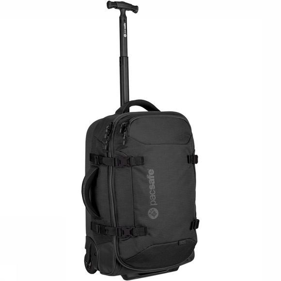 Pacsafe Toursafe AT21 Carry-On Trolley Zwart