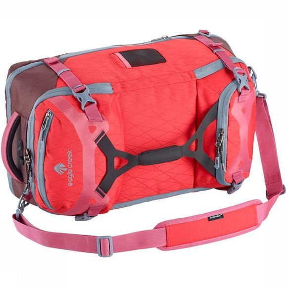 Eagle Creek Gear Warrior Travel Pack 45L Lichtrood/Middenrood