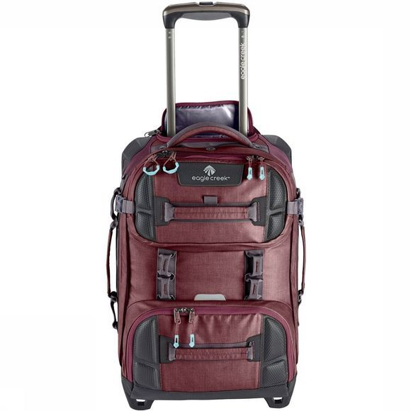 Eagle Creek Orv Wheeled Duffel International Carry-On Donkerrood