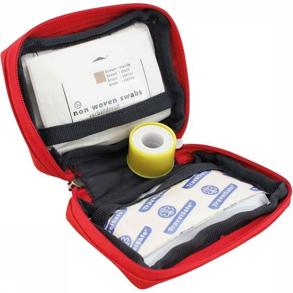 Travelsafe Globe Scout EHBO Kit Rood/Wit