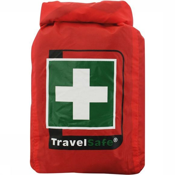 Travelsafe Globe Waterproof EHBO Kit Rood/Wit