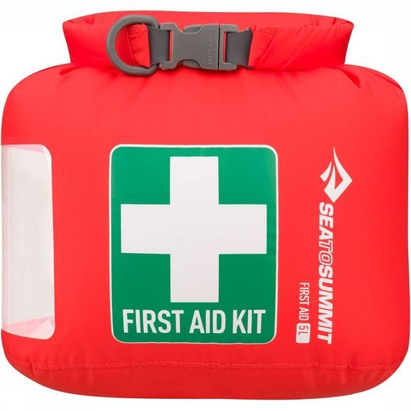 Sea To Summit First Aid Dry Sack Expedition Waterdichte EHBO-zak Large Rood