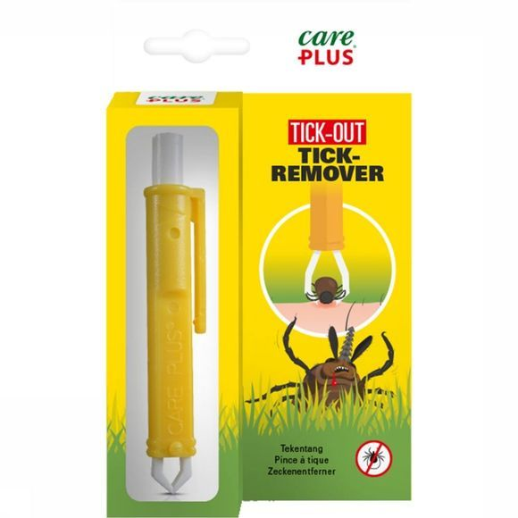 Care Plus Tick Remover Tekentang Geel/Wit