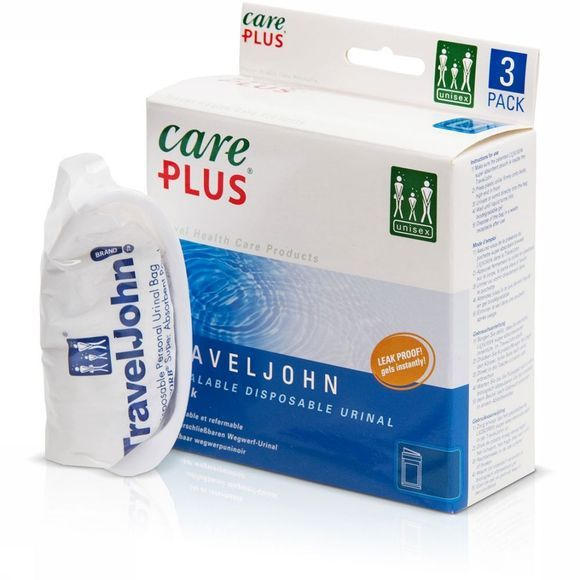 Care Plus TravelJohn Disposal Wegwerp Plaszak Geen kleur