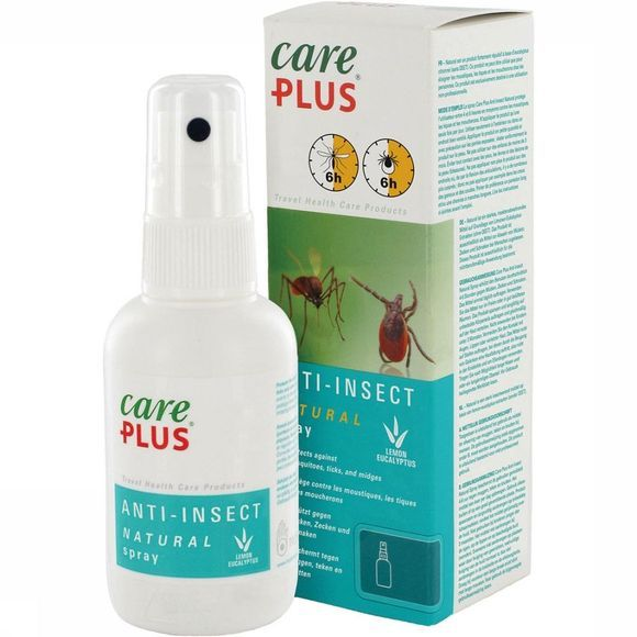 Care Plus Natural Anti-insect Spray 60ml Geen kleur