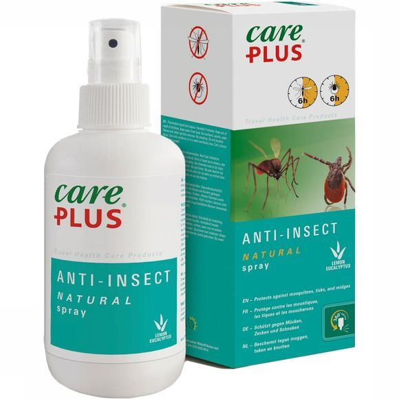 Care Plus Natural Spray 200ML Transparant